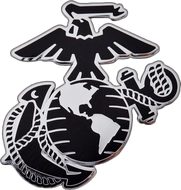 Marine Eagle, Globe and Anchor Car Emblem