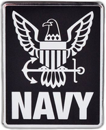 Navy Logo Car Emblem