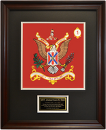 111th Field Artillery Framed 16x20