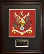 124th Regiment Framed 16x20