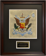 80th-8 Regiment Framed 16x20