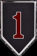 1st Infantry Division Car Emblem