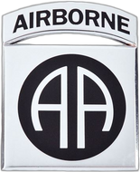 82nd Airborne Division Car Emblem