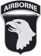 101st Airborne Division Car Emblem