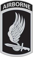 173rd Airborne Brigade Car Emblem