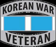 Korean War Veteran Car Emblem