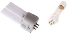 """GeneralAire LSK36  General Aire UV Air Purifier # GUV25403A.  Replacement UV Bulb Set for the GeneralAire UV Air Purifier # GUV25403A. Bulb set contains: 1- 16"""" Germicidal H-Lamp replacement for LSK36 1- 5"""" Ozone Replacement Lamp  These replacement lamps are designed to fit the GeneralAire UV Systems Model GUV25403A."""