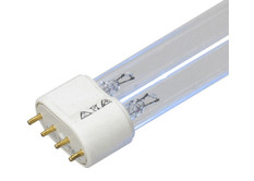 Ultravation - UltraMAX UME-2036 and Ultravation - UltraMAX UME-1036  UV Light Bulb for Germicidal Air Treatment Guaranteed Replacement Ultraviolet (UV) Bulb - 4 Pin in Straight line on a Single End 2G11 - H-Style tube - 36 Watts - 16.14 Inch Length Lamp UltraMAX UME-2036 UV Light Bulb Ultravation - UltraMAX UME-2036 UV Light Bulb is 36 watts and 100% compatible with the OEM  This lamp produces UV-C light will inactivate and kill bacteria, molds, protozoa, viruses and yeasts. Single lamp system would be Ultravation - UltraMAX UME-1036 This replacement germicidal bulb has a 4 pin base on a single end that is used for air purification systems.  Ultravation - UltraMAX UME-2036 and Ultravation - UltraMAX UME-1036