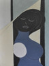 "Midnight Dream - Acrylic & Pencil on Wood Panel.  Unframed.  24 x 18"""