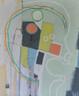 """Acrylic,Oil Stick on Canvas.  Unframed. 24 x 20"""""""