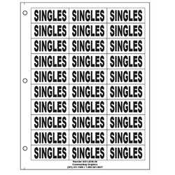 "1"" Singles"