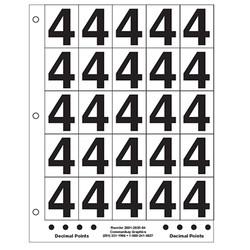 "2"" Number 4"