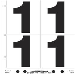 "5"" Number 1"