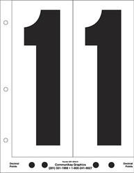 "9"" Number 1"
