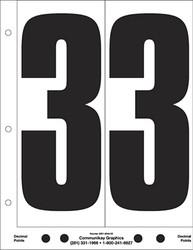 "9"" Number 3"