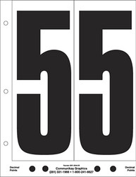 "9"" Number 5"