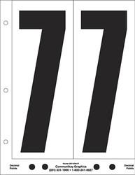 "9"" Number 7"