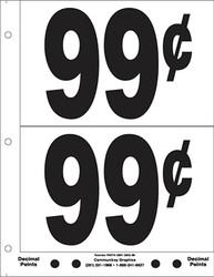 """5"""" Pre-priced 99¢"""
