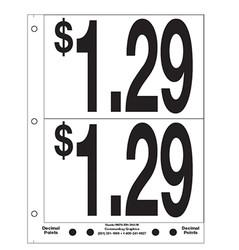 """5"""" Pre-priced $1.29"""