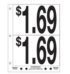 """5"""" Pre-priced $1.69"""