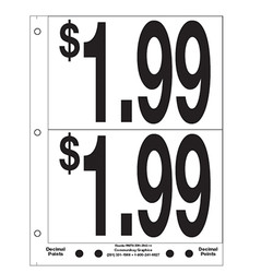 """5"""" Pre-priced $1.99"""