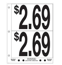 """5"""" Pre-priced $2.69"""