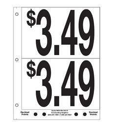 """5"""" Pre-priced $3.49"""
