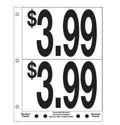 """5"""" Pre-priced $3.99"""