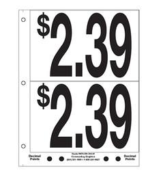 """5"""" Pre-priced $2.39"""