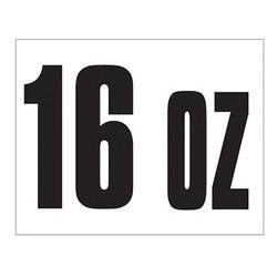 Small Banner Label - 16 oz