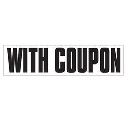Medium Banner Label - With Coupon