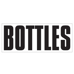 Large Banner Label - Bottles