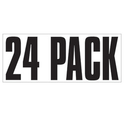 Large Banner Label - 24 Pack