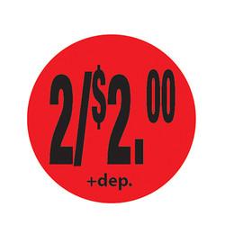 Da-Glos 2/$2.00 plus deposit