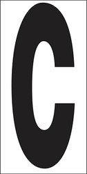 "6"" Letter C"
