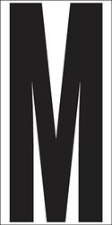 "6"" Letter M"