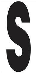 "6"" Letter S"