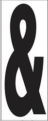 "6"" Letter & (Ampersand)"