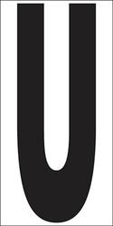 """9"""" Letter U"""