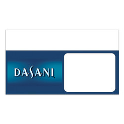 "Shelf talker - 10"" x 6.25"" Dasani"