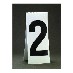 """11 1/8"""" Spiral Number Cent Pad - White"""