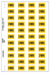 Mello Yello Flavor Sheet
