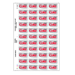 Diet Coke Flavor Sheet