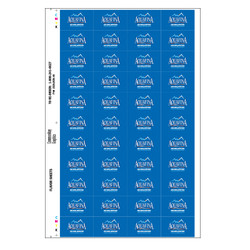 Aquafina Flavor Sheet