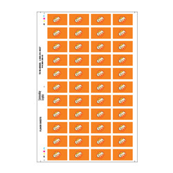 Orange Crush Flavor Sheet