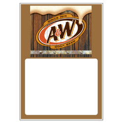 A&W Rootbeer Low Tac Cling