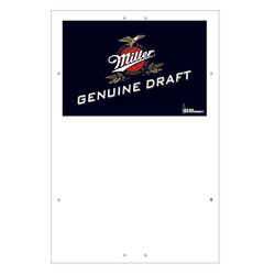 "Exterior Pole Sign - 31"" X 47"" MGD, Miller Genuine Draft"