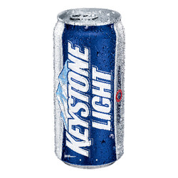 "Contour - 51"" Keystone Light Can"