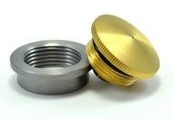 brass vented filler cap and weld in bung