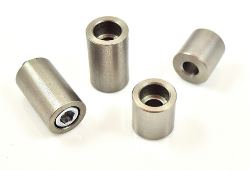 """5/16"""" stainless steel weld on counterbore bung"""